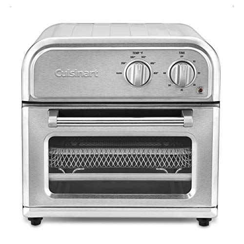 Cuisinart Air Fryer Toaster Oven Combo Compact Stainless Steel